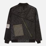 Мужская куртка бомбер Maharishi Upcycled MA-1 Overdyed Black фото- 2