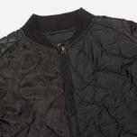 Мужская куртка бомбер Maharishi Upcycled MA-1 Overdyed Black фото- 3