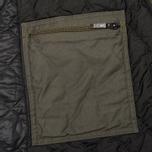 Мужская куртка бомбер Maharishi Upcycled MA-1 Overdyed Black фото- 8