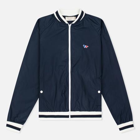 Maison Kitsune Мужская куртка бомбер Windcheater Dark Navy