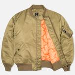 Мужская куртка бомбер maharishi MA-1 Flight Olive фото- 1