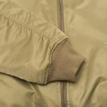 Мужская куртка бомбер maharishi MA-1 Flight Olive фото- 3