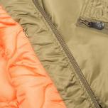 Мужская куртка бомбер MHI By Maharishi MA-1 Flight Olive фото- 5