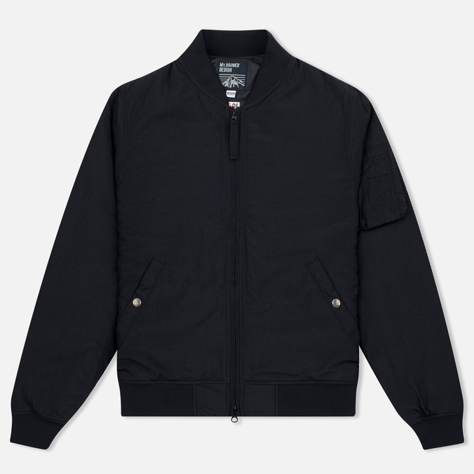 Мужская куртка бомбер Mt. Rainier Design MR61323 Mountain Thermo Army Black