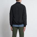 Мужская куртка бомбер Mt. Rainier Design Windshed Flight Black фото- 8