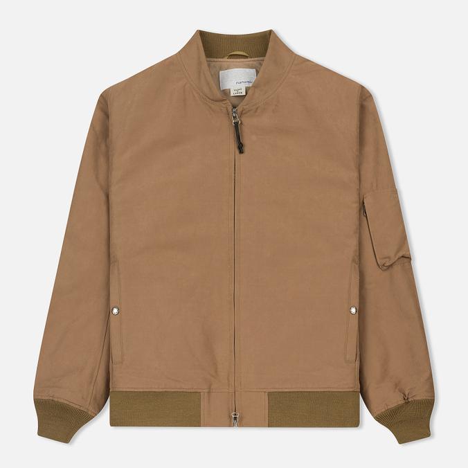 Мужская куртка бомбер Nanamica Mole Skin NA-1 Camel