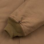Мужская куртка бомбер Nanamica Mole Skin NA-1 Camel фото- 3