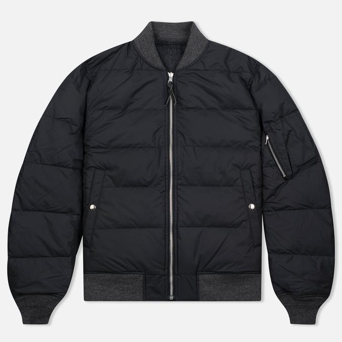 Мужская куртка бомбер Nanamica Reversible NA-2 Black