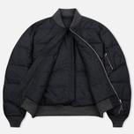 Мужская куртка бомбер Nanamica Reversible NA-2 Black фото- 2