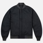 Мужская куртка бомбер Nanamica Reversible NA-2 Black фото- 5