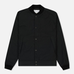 Мужская куртка бомбер Nanamica Splash Ground Black фото- 0