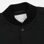 Мужская куртка бомбер Nanamica Splash Ground Black фото- 1