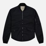 Мужская куртка бомбер Nemen Bomber Overshirt Ink Black фото- 0