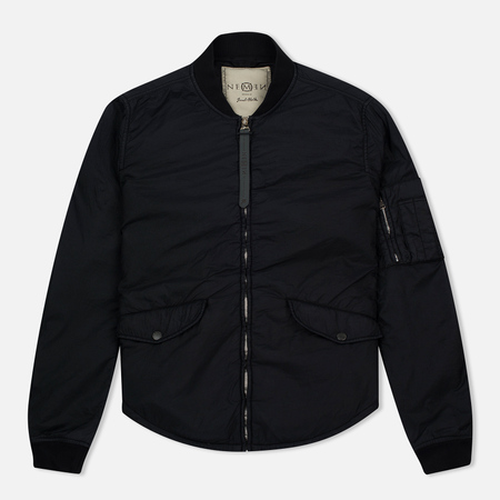Nemen Bomber Overshirt Ink Men's bomber Black