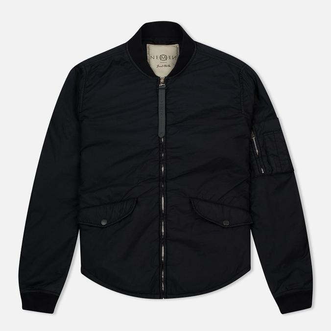 Мужская куртка бомбер Nemen Bomber Overshirt Ink Black