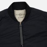 Мужская куртка бомбер Nemen Bomber Overshirt Ink Black фото- 1
