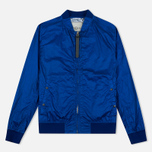 Мужская куртка бомбер Nemen Garment Dyed MA-1 Cyan фото- 0