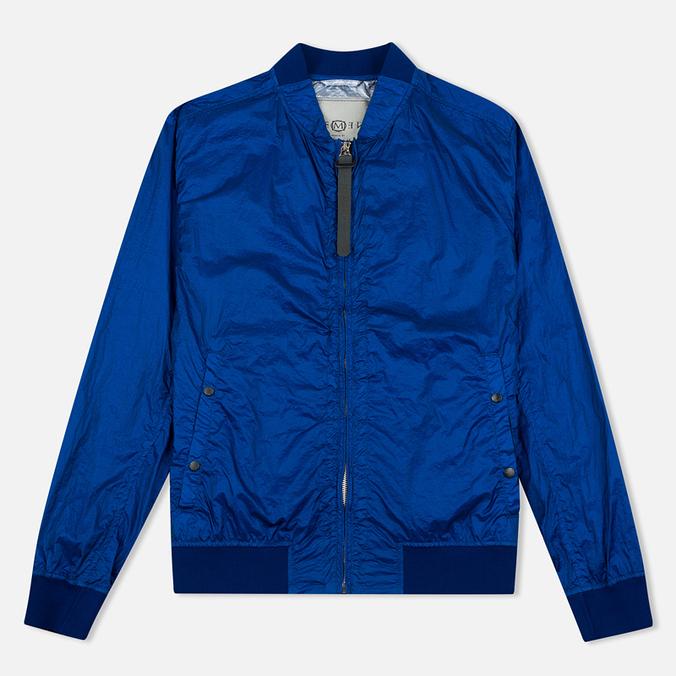 Мужская куртка бомбер Nemen Garment Dyed MA-1 Cyan