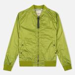 Мужская куртка бомбер Nemen Garment Dyed MA-1 Leaf Green фото- 0