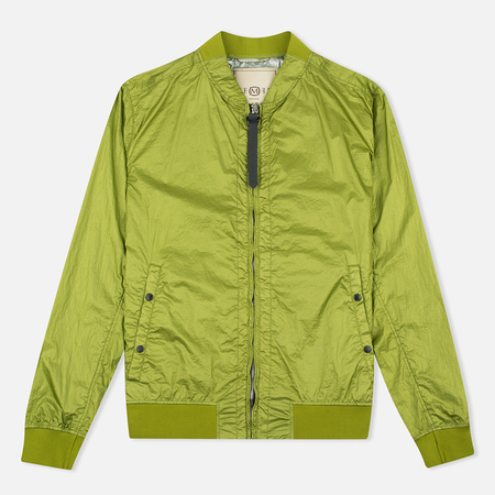 Nemen Garment Dyed MA-1 Men's Bomber Leaf Green