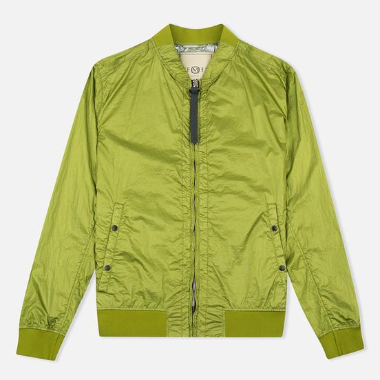Мужская куртка бомбер Nemen Garment Dyed MA-1 Leaf Green