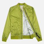 Мужская куртка бомбер Nemen Garment Dyed MA-1 Leaf Green фото- 1