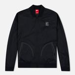 Мужская куртка бомбер Nike Court MA-1 Black/White фото- 0