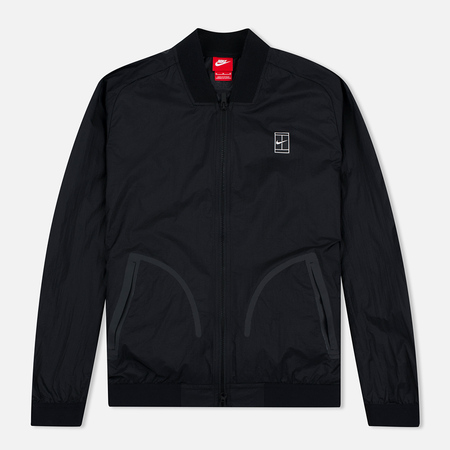 Nike Court MA-1 Men's Bomber Black/White
