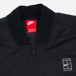 Мужская куртка бомбер Nike Court MA-1 Black/White фото- 2