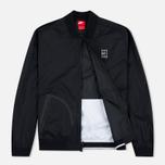 Мужская куртка бомбер Nike Court MA-1 Black/White фото- 1