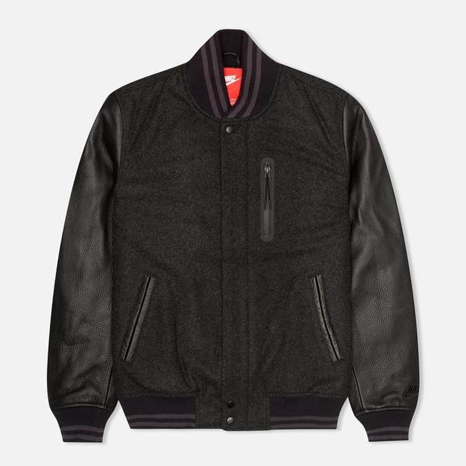 Мужская куртка бомбер Nike Destroyer Black/Heather/Obsidian