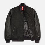 Мужская куртка бомбер Nike Destroyer Black/Heather/Obsidian фото- 1