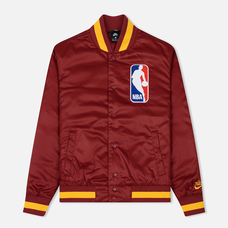 Мужская куртка бомбер Nike SB x NBA Bomber Team Red/Team Red/University Gold