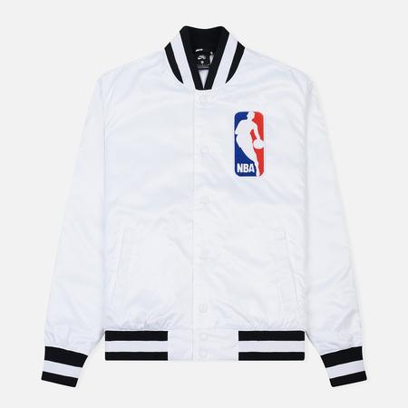 Мужская куртка бомбер Nike SB x NBA Bomber White/White