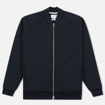 Мужская куртка бомбер Norse Projects Arnold Dry Cotton Black фото- 0