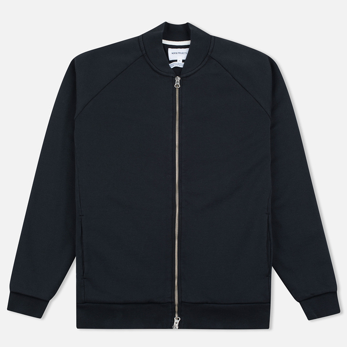 Мужская куртка бомбер Norse Projects Arnold Dry Cotton Black