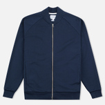 Norse Projects Arnold Dry Cotton Men's Bomber Navy photo- 0