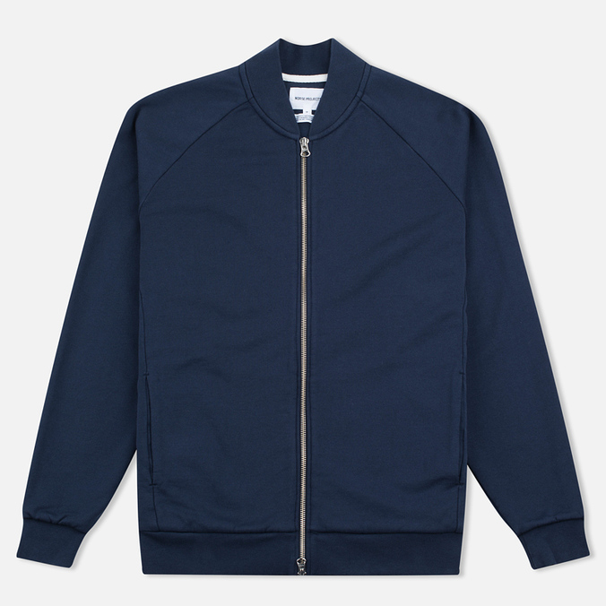 Norse Projects Arnold Dry Cotton Men's Bomber Navy