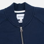 Norse Projects Arnold Dry Cotton Men's Bomber Navy photo- 1