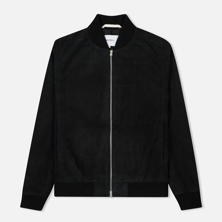 Мужская куртка бомбер Norse Projects Hak Suede Black
