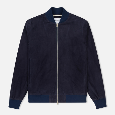 Мужская куртка бомбер Norse Projects Hak Suede Navy