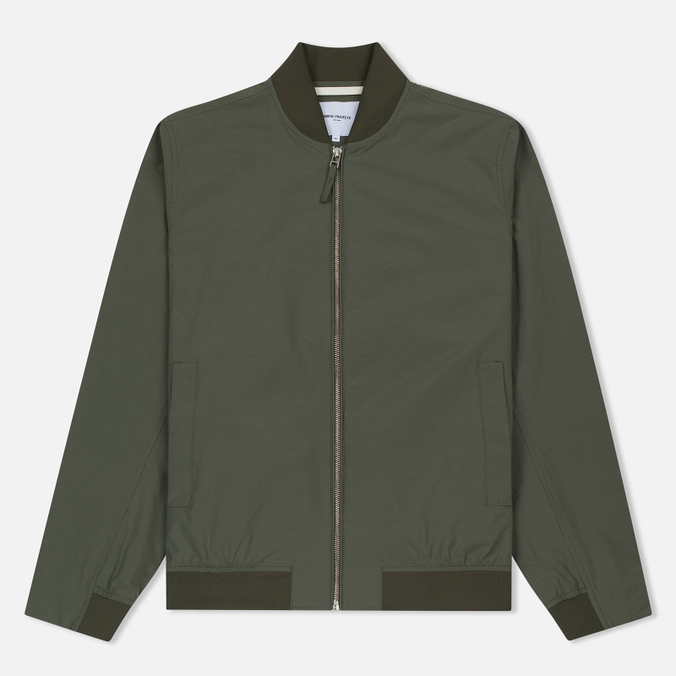 Мужская куртка бомбер Norse Projects Ryan Crisp Cotton Dried Olive