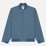 Мужская куртка бомбер Norse Projects Ryan Crisp Cotton Marginal Blue фото- 0