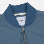 Мужская куртка бомбер Norse Projects Ryan Crisp Cotton Marginal Blue фото- 1