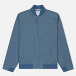 Мужская куртка бомбер Norse Projects Ryan Crisp Cotton Marginal Blue фото- 0