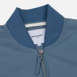 Мужская куртка бомбер Norse Projects Ryan Crisp Cotton Marginal Blue фото- 1