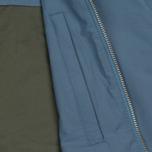 Мужская куртка бомбер Norse Projects Ryan Crisp Cotton Marginal Blue фото- 3