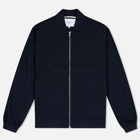 Мужская куртка бомбер Norse Projects Ryan Melange Ripstop Indigo