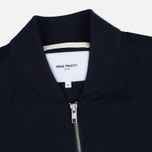 Norse Projects Ryan Melange Ripstop Men's Bomber Indigo photo- 1