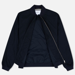 Norse Projects Ryan Melange Ripstop Men's Bomber Indigo photo- 2